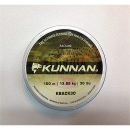 Backing para Líneas de Mosca marca Kunnan