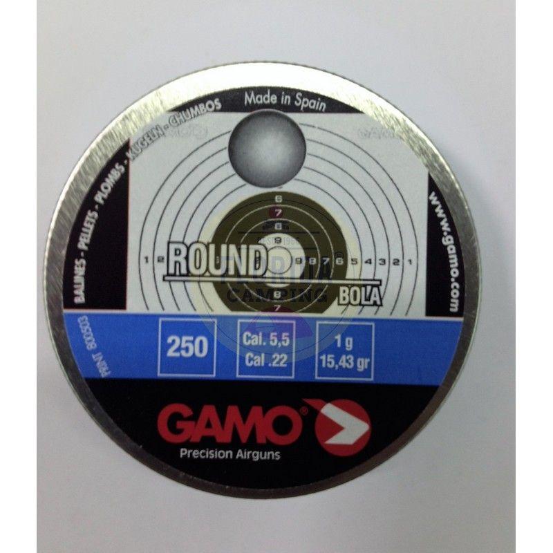 Balines mod.Round cal. 5,5mm marca Gamo
