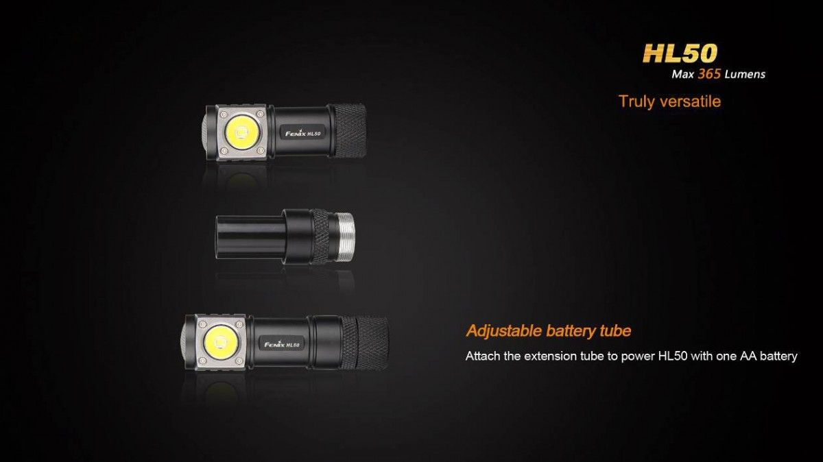 Linterna mod.HL50 marca Fenix