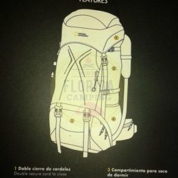 Mochila mod.Lake 65 marca National Geographic