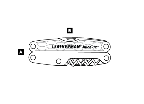 Pinza Multiuso mod.Juice C2 marca Leatherman
