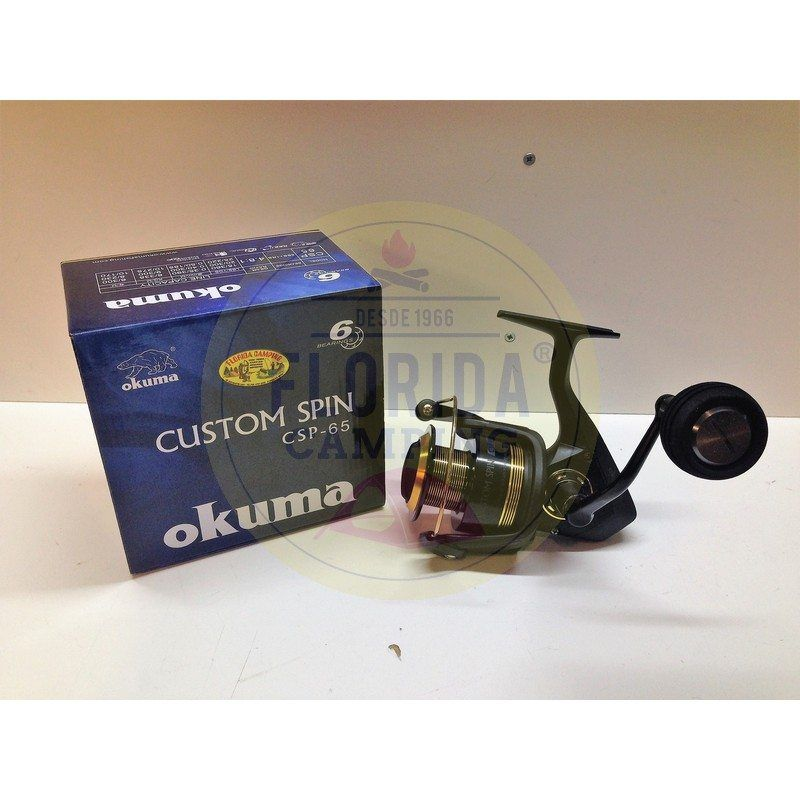 Reel mod.Custom Spin CSP 65 marca Okuma