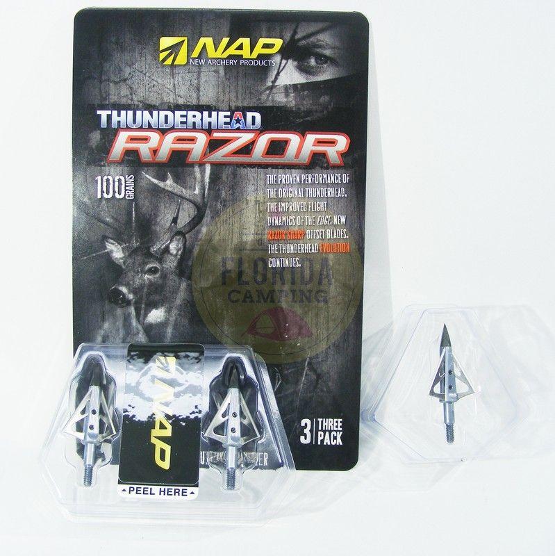 Punta de Caza Thunderhead Razor marca Nap