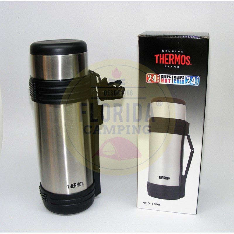 Termo Acero Inoxidable 1 litro mod.NCD-1000 marca Thermos