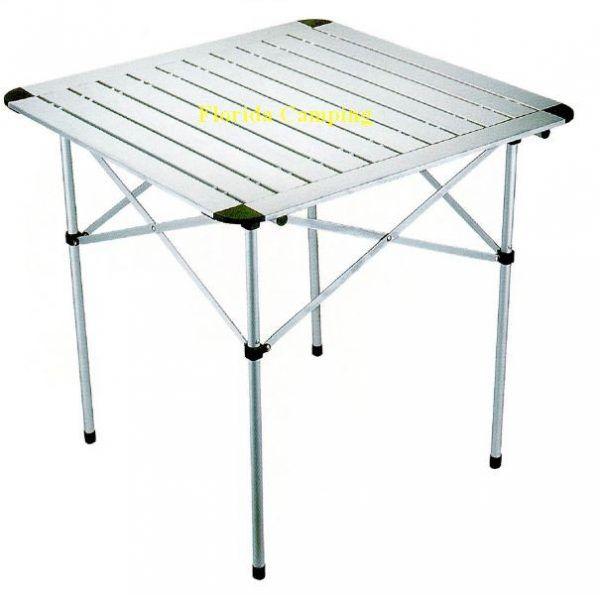 Mesa Enrollable de Aluminio marca Bamboo 2