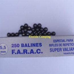 Balines Esféricos mod.Esféricos cal. 5,5mm marca FARAC