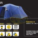 Carpa mod.Indiana VI marca National Geographic