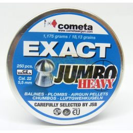 Balines mod.Exact Jumbo Heavy cal. 5,5mm marca JSB-Cometa