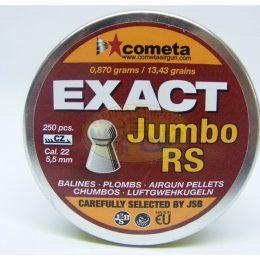 Balines mod.Exact Jumbo RS cal. 5,5mm marca JSB-Cometa