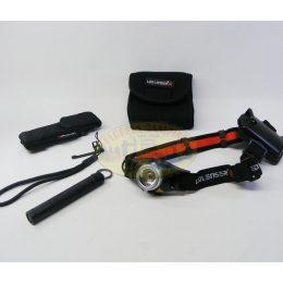 Kit Linternas mod.H7+P2 marca Led Lenser
