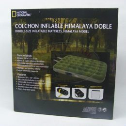 Colchón Inflable mod.Himalaya Doble marca National Geographic