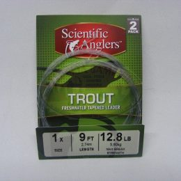Leader mod.Trout 9 pies 2 Pack marca Scientific Anglers