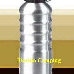 Botella de Aluminio mod.0.75lt marca Waterdog