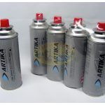 Cartucho de Gas Descartable tipo Aerosol marca Artika