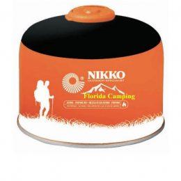 Garrafa de Gas con Válvula de 230 g. marca Nikko