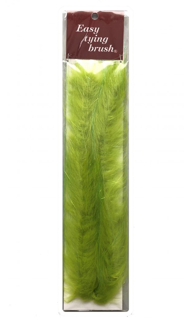Easy Tying Brush Chartreuse