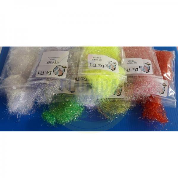 Ice fiber freeze dr fly