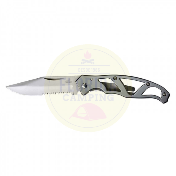 Navaja Gerber Mini Paraframe Serrated 22-48484