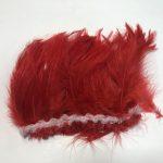 Saddle Chinese rojo